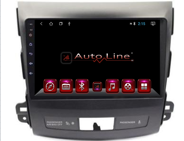 AutoLine ANDROID 8.1.0 MITSUBISHI OUTLANDER 2007-2013  HD ЭКРАН 1024-600 ПРОЦЕССОР 8 ЯДЕР (OCTA CORE)