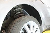Подкрылки задние Toyota Camry V50 2011-2014, фото 2