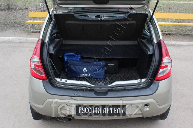 Защита заднего бампера Renault Sandero 2009-2013, фото 2