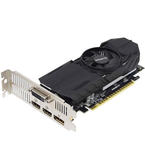 Видеокарта Gigabyte GTX 1050Ti OC Edition, 4 GB SVGA PCI Express, DVI/HDMI/DP, GDDR5/128bit,
