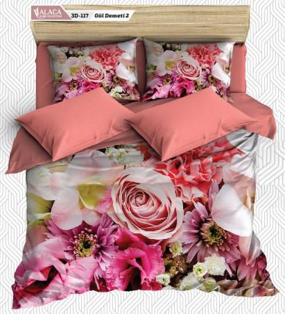 Комплект 3 D постельного белья