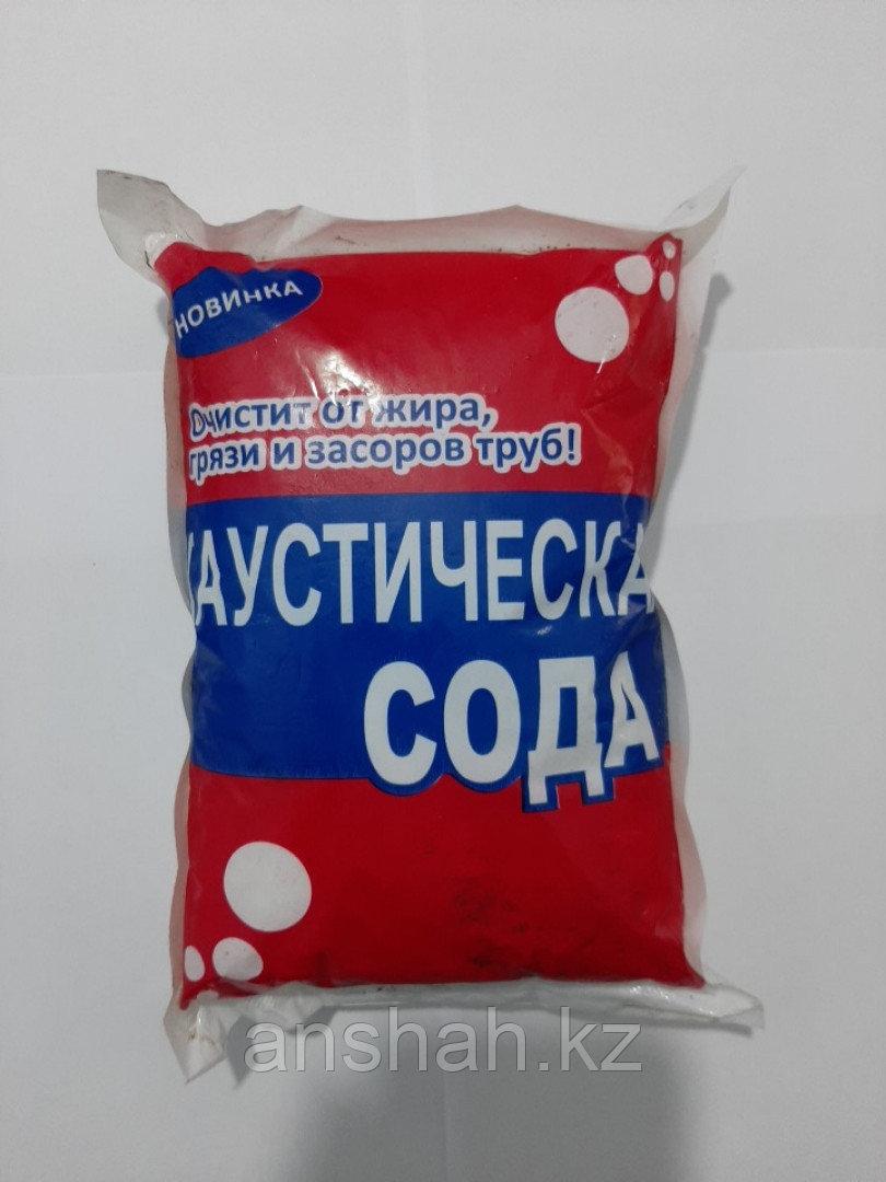 Каустическая сода 1кг/0,8кг