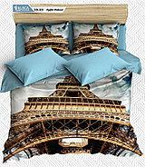 Комплект 3 D постельного белья, фото 5