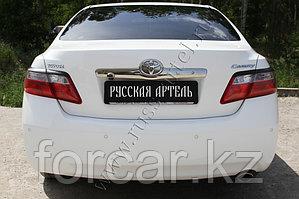 Накладки на задние фонари (Реснички) Toyota Camry V40 2009-2011