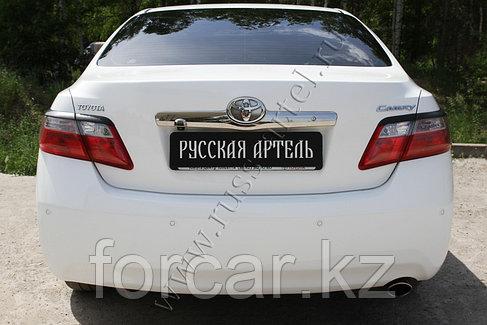 Накладки на задние фонари (Реснички) Toyota Camry V40 2009-2011, фото 2