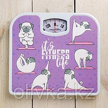 Весы напольные It's fitness life, механические, до 130 кг