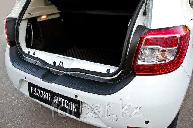 Защита заднего бампера Renault Sandero 2014-, фото 2