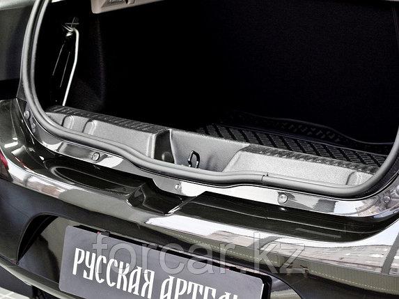 Накладка на порожек багажника Renault Sandero 2014-, фото 2