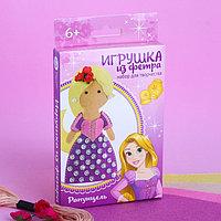 "Куколка, игрушка из фетра ""Моя куколка"" Принцессы: Рапунцель"