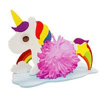 Набор для создания игрушки из помпона «Единорог»