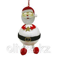 Набор для творчества - создай ёлочное украшение «Задорный Дед Мороз»