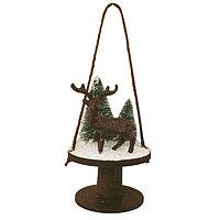 Набор для творчества - создай ёлочное украшение «Олень в лесу»