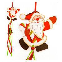 Набор для создания новогодней подвески «Дед Мороз»