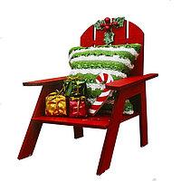 Набор для творчества - создай ёлочное украшение «Стул с подарками»
