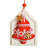 Набор для творчества - создай ёлочное украшение «Ёлочка со снежинками»