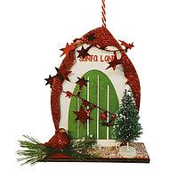 Набор для творчества - создай ёлочное украшение «Дверь в новый год»