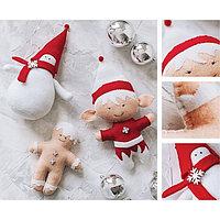 Мягкие игрушки «Весёлая компания», набор для шитья, 22.4 × 5.2 × 15.6 см
