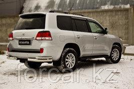 Накладки на задние фонари (реснички) Toyota LC 200 2007-2011, фото 2