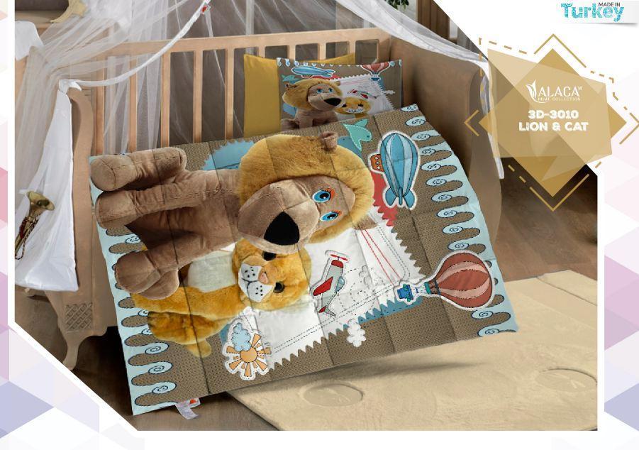 3 D Комплект для детского  постельного белья