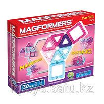 Магнитный конструктор Magformers Pastelle 30 (30 деталей)
