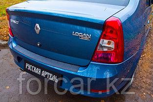 Накладка на задний бампер Renault Logan 2004-2010, фото 3
