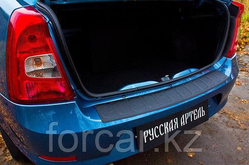 Накладка на задний бампер Renault Logan 2004-2010, фото 2