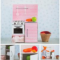 Мебель для кукол малюток «Кухонный шкафчик», набор для шитья, 15 × 23,2 × 2,2 см