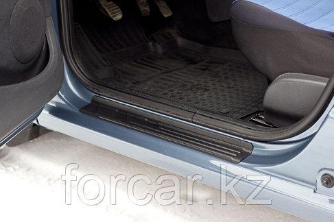 Накладки на внутренние пороги дверей Renault Logan 2004-2010, фото 2