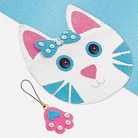 Набор для создания кошелька из фетра «Кошка»