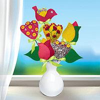 Букет из фетра, набор для создания «Тюльпаны»