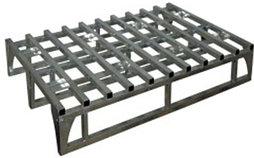 Поддон металлический каркасный оцинкованный ПМК-Ц Евро (800х1200х150) (Арт. 2374-T)