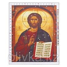 Канва для вышивания с рисунком «Иисус», 47 х 39 см