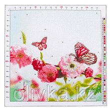 Канва для вышивания с рисунком «Весенний сад», 41 х 41 см