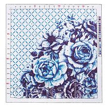 Канва для вышивания с рисунком «Розы», 41 × 41 см