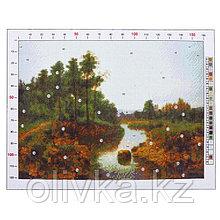 Канва для вышивания с рисунком «Фёдоров. Пейзаж», 28 х 37 см