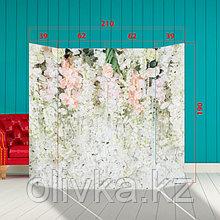 """Ширма - Фотозона """"Стена в цветах"""" 210×190см"""