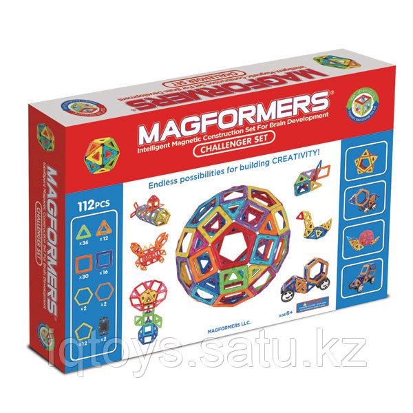 Магнитный конструктор Magformers Challenger Set (112 деталеи)