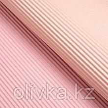 Бумага гофрированная, сиренево-розовая, 50 см х 66 см