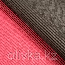 Бумага гофрированная, винно-чёрная, 50 см х 66 см