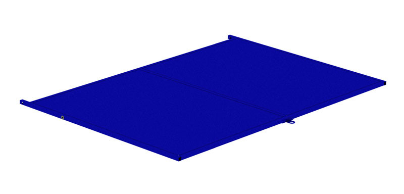 Полка сплошная для ОПС 1800 М (800х1200) (Арт. 2371-T)