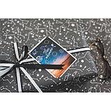 Бумага упаковочная крафтовая «Космос», 70 × 100 см, фото 5