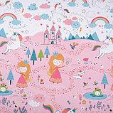 Бумага крафтовая «Для принцессы», 70 × 100 см, фото 2