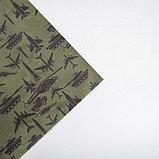 Бумага крафтовая «С 23 Февраля», 70 × 100 см, фото 3