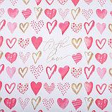 Бумага крафтовая «С Любовью», 70 × 100 см, фото 2
