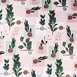 Бумага крафтовая «Сургучные печати», 70 × 100 см, фото 2