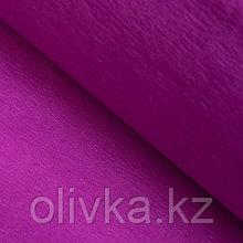 Бумага креп «Яркий пурпурный» неон, 0,5 х 2 м
