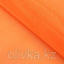 Бумага креп «Светло-марковный» неон, 0,5 х 2 м