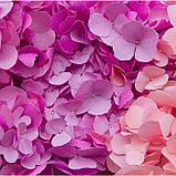 """Бумага гофрированная, 554 """"Детский розовый"""", 0,5 х 2,5 м, фото 2"""