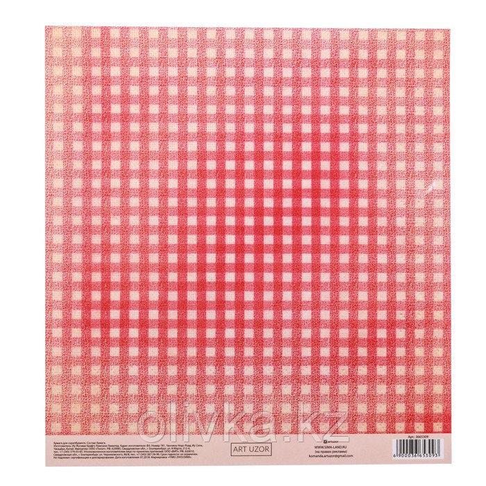 Бумага для скрапбукинга с клеевым слоем «Пин-ап», 20 × 21,5 см, 250 г/м