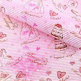 Бумага гофрированная для творчества МИКС, фото 2